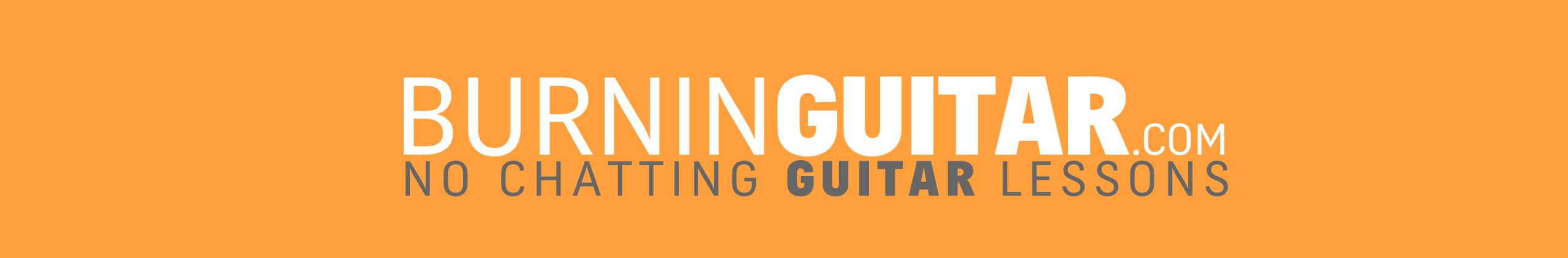 Burnig guitar, Acoustic Blues Guitar Lessons