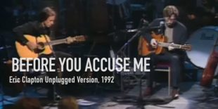 Burninguitar show you how to play Before you accuse me in Eric Clapton's version. A great classic of Acoustic Blues Repertoire
