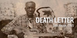 Burninguitar show you how to play Death Letter Blues in Son House's version. A great classic of Acoustic Blues Slide Guitar. Music Score in pdf and guitar pro tab included