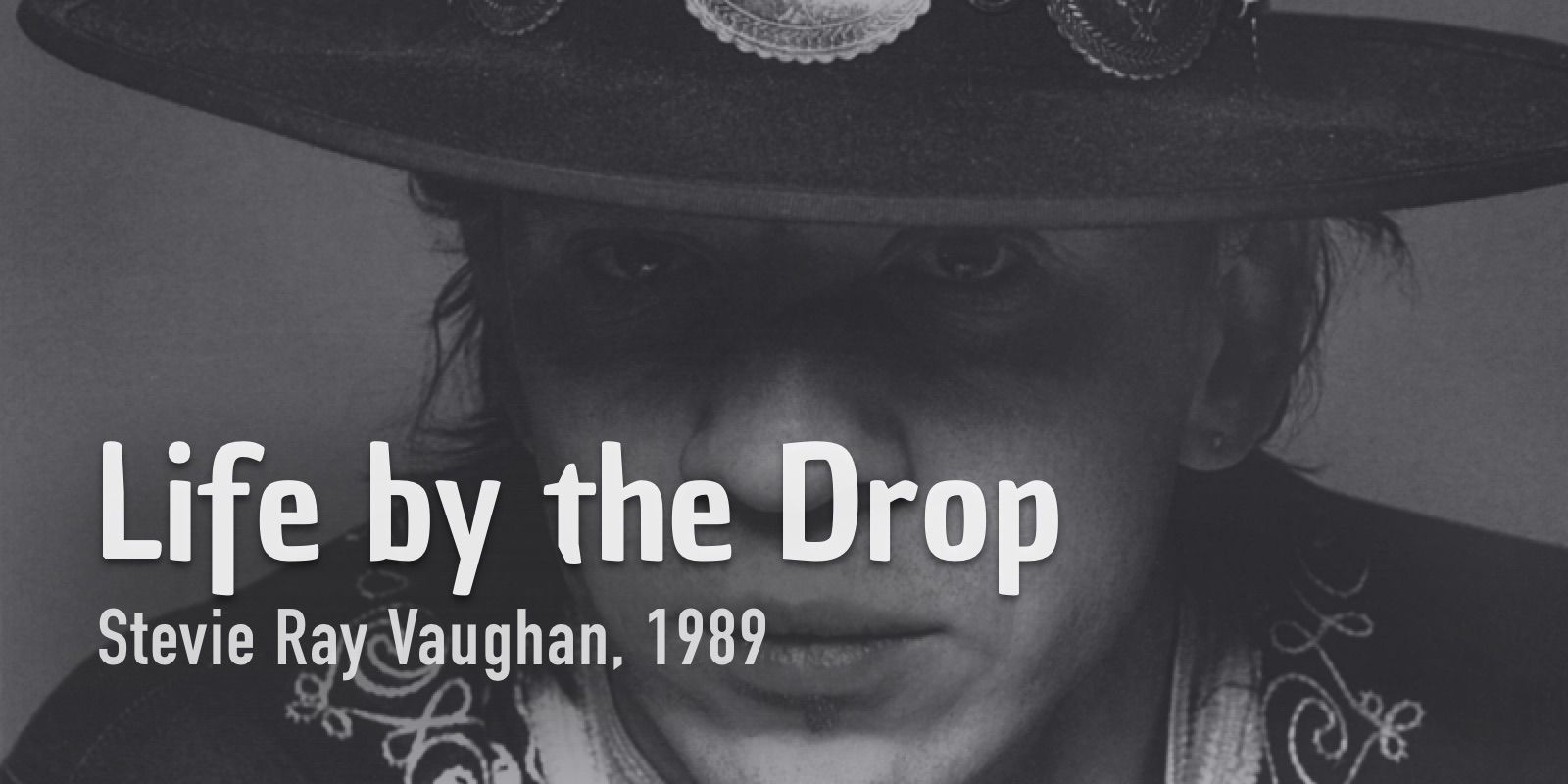 How To Play Life by the drop. Burninguitar show you how to play Life by the drop by Stevie Ray Vaughan. A great classic of Acoustic Blues Guitar.