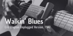 Burninguitar show you how to play Walkin Blues (E.Clapton Unplugged). A great classic of Acoustic Blues Slide Guitar. Hd videos with score in pdf & gpx