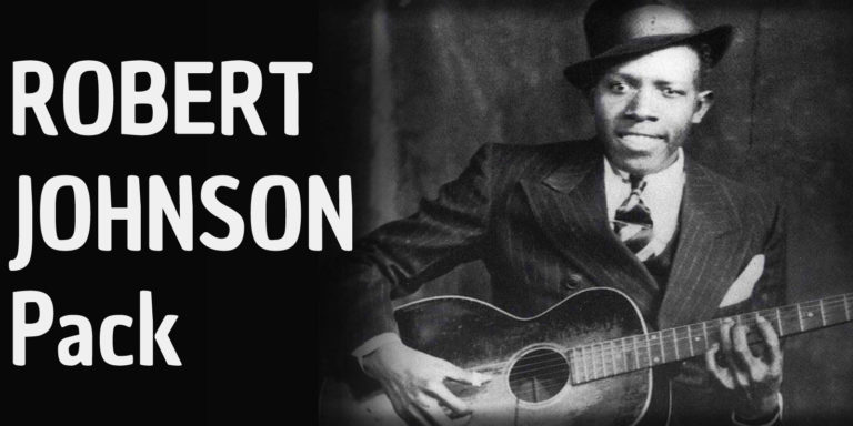 How to play some of the most famous songs of Robert Johnson: Me and the devil blues,Love in Vain,Sweet Home Chicago, They're red hot, From Four till Late