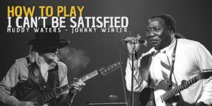 Burninguitar show you how to play I Can't Be Satisfied in Hard Again version by Muddy Waters and Johnny Winter.A great songs of Acoustic Blues Slide Guitar.
