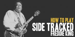 How To Play Side Tracked (Freddie King) Burninguitar show you how to play Side Tracked by Freddie King. A great song of  Blues Guitar. Music Score included in pdf and in guitar pro tab. Freddie King Side Tracked lesson include 10 videos and music sheets available for download (both Sidetracked pdf and sidetracked gpx)