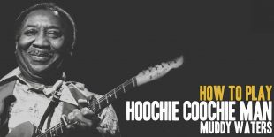 How To Play Hoochie Coochie Man (Muddy Waters) Burninguitar show you how to play Hoochie Coochie Man by Muddy Waters. A great song of  Blues Guitar. Music Score included in pdf and in guitar pro tab. Hoochie Coochie Man lessons include 6 videos and music sheets available for download (both Hoochie Coochie Man pdf and Hoochie Coochie Man gpx)