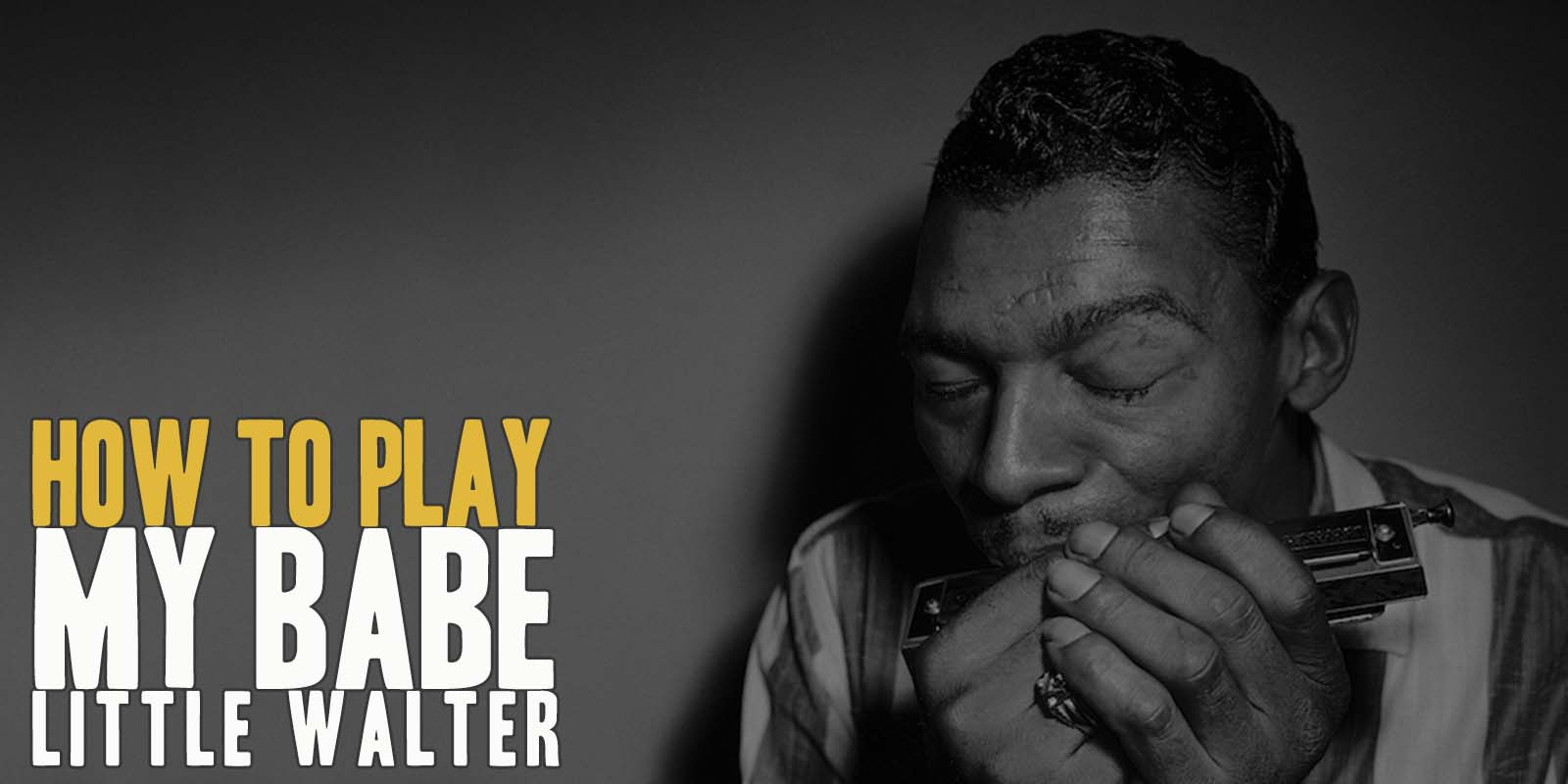 How to My Babe by Little Walter. A great song of Jump Blues Guitar. Music Score included in My Babe pdf and My Babe gpx files.