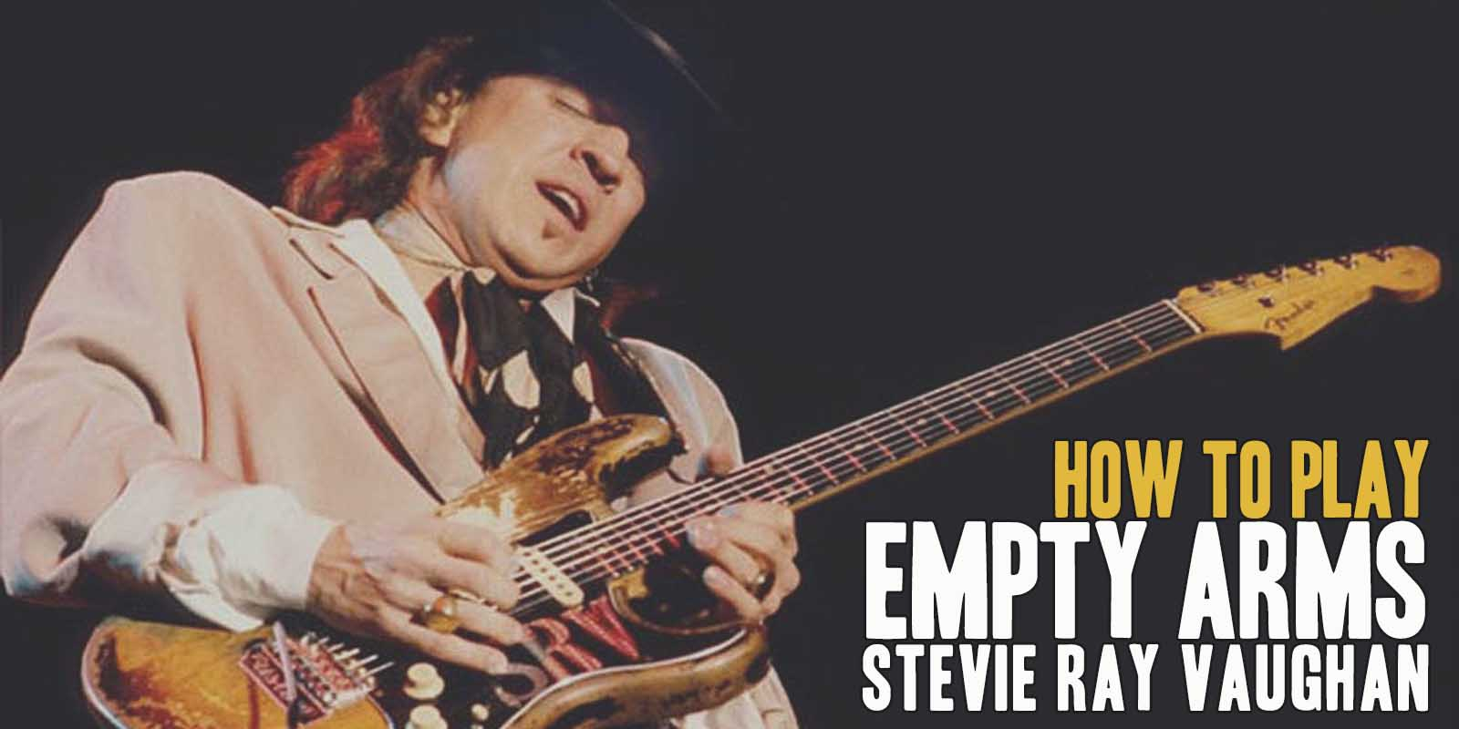 How to play Empty Arms by Stevie Ray Vaughan. A great song of Texas Blues Guitar. Music Score included in Empty Arms pdf and Empty Arms gpx files