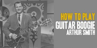 Burninguitar show you how to play Guitar Boogie by Arthur Smith. A great song of Acoustic Blues Guitar. Music Score included in pdf and in guitar pro tab.